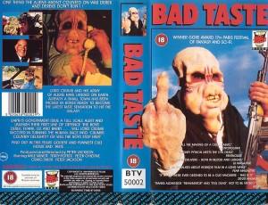 Bad Taste VHS-cover